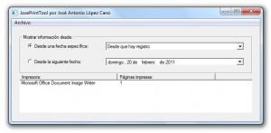 Monitoriza la impresora con JosePrintTool