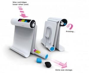 impresora de cera ecologica