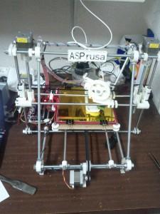 ASPrusa nuestra propia Impresora 3D