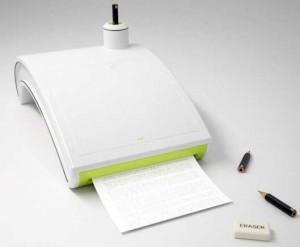 Impresora a lapiz