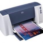 Comprueba funcionamiento impresora HP Deskjet serie 3000