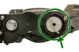Engranaje para el reset del toner tn-2220