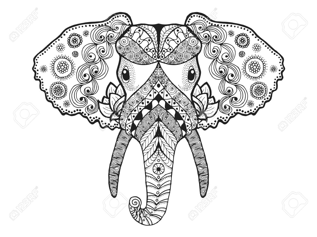 New Idea 44886250 additionally 22 Beautiful Tribal Dragon Tattoo further Sheep Templates Printable besides Puzzle Infographic Template Free together with Identifying Your Face Shape. on head design