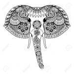 Cabeza de elefante dificil