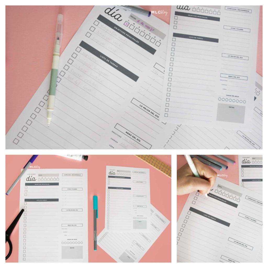 Descargar planificador diario